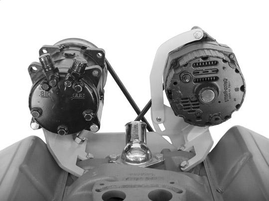 Alan Grove 200R Short Water Pump Alternator Bracket